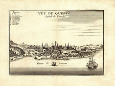 Historic Map of Quebec 1755  County 18x24 24x36 36x54 Poster NEW