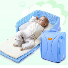 Portable Infant Sleeper Bed Folding Carry Mommy Bag Baby Comfort Bassinet Cot