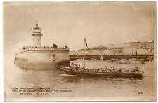 Early RAMSGATE  New Britannic Dunkirk Rescue Boat  Ramsgate Harbour Postcard