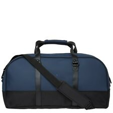RAINS - Waterproof Large Weekend / Travel Bag, Navy. Brand new with tags