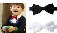 Young Boy's Dressy Satin Adjustable Bow Ties - A Variety of Colors To Choose