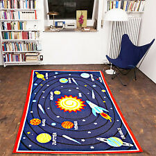 KIDS PLANET GALAXY MATS CHILDRENS PLAY RUGS HOME BEDROOM NON-SLIP FLOOR CARPETS