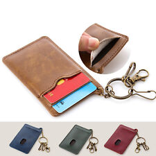 Bus Card Student Card Package Credit Card Holder Bus IC PU Leather Case Bag
