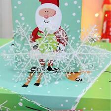 Party Santa Xmas Christmas Tree Decoration 30 pcs Snowflake Hanging Ornaments