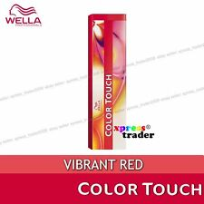 Wella Color Touch Semi Permanent Hair Dye VIBRANT RED 60ml