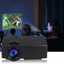 E08S Projector 200 Lumen 800 x 480 HD LED Cinema IR Control Wired Same Screen AU