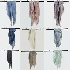 Fashion Women Long Cotton Scarf Wrap Lady Shawl Girls Large Hemp Scarves Hot
