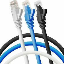 RJ45 Network Ethernet Cat5e Cat6 Cat6e Cat7 Internet Lan Router Patch Cable Lot