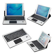Ultra Slim Universal Wireless Bluetooth Keyboard w/Touchpad Leather Case Cover