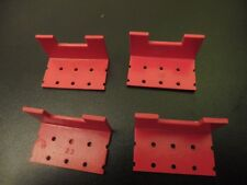 Bayko (Plimpton) Red LongTurrets Part No 23 Quantities of 4, & 8 Available