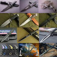 Lots of Camping Survival Diving Hunting Claw Knives Fixed Folding Pocket Knife