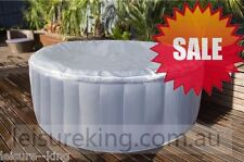 Spa Round style fit up to 4 New Portable inflatable Spa hot tub bath pool