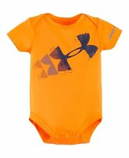 NWT Under Armour Baby Boys Rising Logo/ Breaking Bat Bodysuit