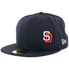 "New Era 59Fifty San Diego Padres ""Flawless Gwynn"" Fitted Hat (Dark Navy) Cap"
