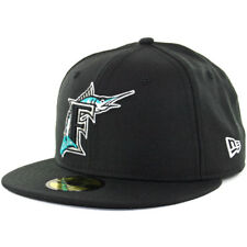 New Era 59FIFTY Florida Marlins Cooperstown Fitted Hat (Black) Cap