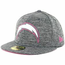 New Era 5950 Breast Cancer Awareness BCA 2016 San Diego Chargers Grey Fitted Hat