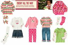 NWT Gymboree Cheery All The Way Sets & Pieces Sz: 2T-3T, 3T, 4T, 3-4, 6