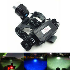 Lamp Flashlight Light  Waterproof Gifts Rechargeable Headlamp  LED Head Torch