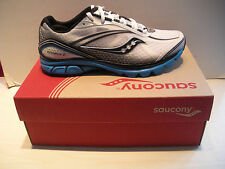 MENS SAUCONY PROGRID KINVARA 2 RUNNING SHOES -SNEAKERS- 20121-1- WHITE/BLK/BLUE