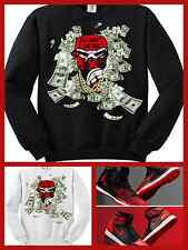 CC EXCLUSIVE SWEATER/SWEATSHIRT TO MATCH NIKE AIR JORDAN 1 BANNED OR ANY BREDS!