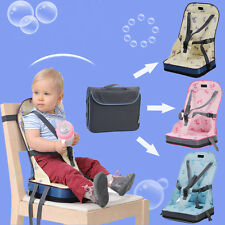 Portable Foldable Baby Toddler Infant Dining Chair Booster Seat Bag Travel Chair
