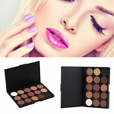 Professional 15 Colors Shimmer Matte Eyeshadow Palette Make-up Cosmetic kit WO