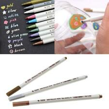 Metallic Pencil Set Marker Album Dauber Sketch Water Color Marker Brush Pen