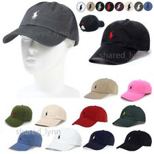 BNWT RALPH LAUREN CAP POLO ONE SIZE FIT ALL ADULTS COTTON BASEBALL HAT ON SALES
