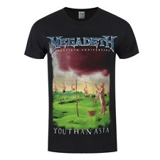 Megadeth Youthanasia Shirt S M L XL XXL Metal Band Tshirt Official T-Shirt New