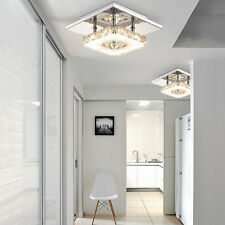 Modern Crystal LED Ceiling Light Pendant Lamp Chandelier Home Lighting Fixture