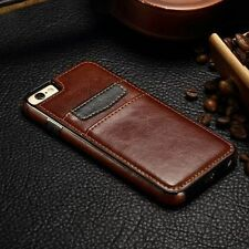 Luxury Ultra Slim Leather Wallet Card Back Case Cover For Apple iPhone 7 Plus