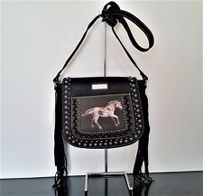 Montana West Trail of Painted Ponies Western Cross Body Saddle Messenger Bag