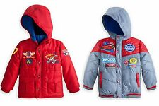 NWT Disney Store CARS and PLANES Jackets U-Pick  Size 3, 5-6
