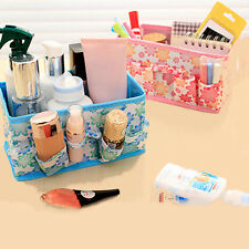 Folding Multifunction Makeup Cosmetic Storage Box Bag Container Case Organizer