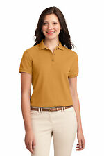 L500 Port Authority Women's Golf Shirt Silk Touch Polo NEW S-3XL All Colors