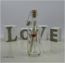 Mother of the Bride/Groom Gift PERSONALISED Message in a Bottle Thank You BOXED