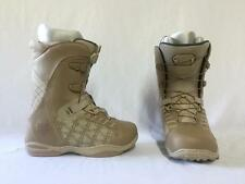 Ride Muse Ladies Snowboard Boots Size 8 Color Khaki NEW