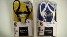 New open box Sony Headphones MDR-AS400 Earbud Ear-Clip Headphones Active Sports