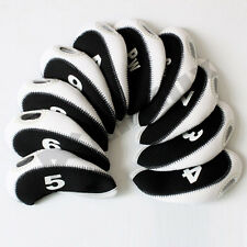 Andux Neoprene Interchangable Headcovers Golf Club Protector for Callway Ping