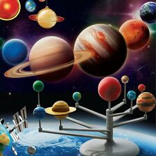 LOT Solar System Planetarium Model Astronomy Science Project DIY Kids Gift LO