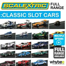 New! Scalextric 1/32 Classic Race & Rally Car Slot Cars Full Range - New in Box!
