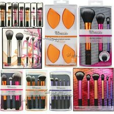 New Real Techniques MakeUp Starter Kit Sculpting Powder Brushes Core Collection