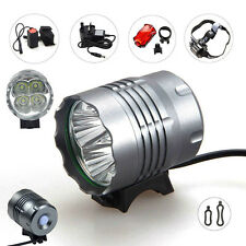 12000LM 4X CREE XML T6 Front Head LED Bicycle Lamp Bike Light Headlamp Headlight