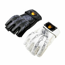 MMA UFC Sparring Grappling Fight Boxing Punch Ultimate Mitts Leather Gloves JL
