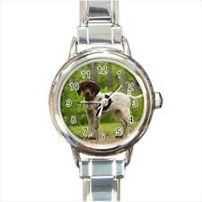 Pointer English Pointer Italian Charm Watch (Battery Included)