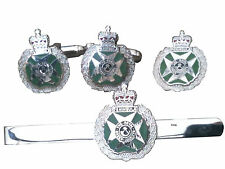 RGJ Royal Green Jackets Cufflinks, Tie Clip, Lapel Badge, Set or Individual