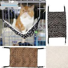 Soft Cat Hammock Ferret Kitten Hammock Pet Cats Cage Hanging Bed for Winter E5N8