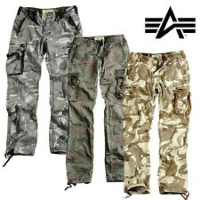 Alpha Industries Trousers Tough C Cargo Pants Outdoor Army all sizes new