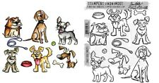 Crazy Dogs Cling Stamps OR Framelits Dies CMS271 SXTH661593 - Choice