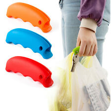 Shopping Helper Handle Carry Bag Carry Food Hanging Relaxed Rubber Silicone Tool